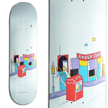 KROOKED MIKE ANDERSON DOMESTIC ISSUES DECK (8.12 x 32inch)