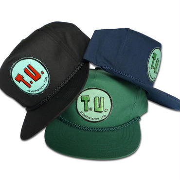 TRANSPORTATION UNIT  CLASSIC T.U. ROPE  SNAPBACK CAP