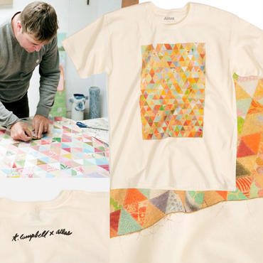ATLAS x THOMAS CAMPBELL  PAPER QUILT TEE