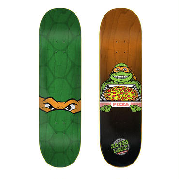 SANTA CRUZ x TEENAGE MUTANT NINJA TURTLES MICHELANGELO DECK (8 x 31.6inch)