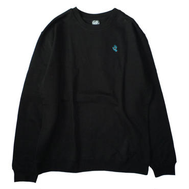 SANTA CRUZ SCREAMING HAND CREWSWEAT