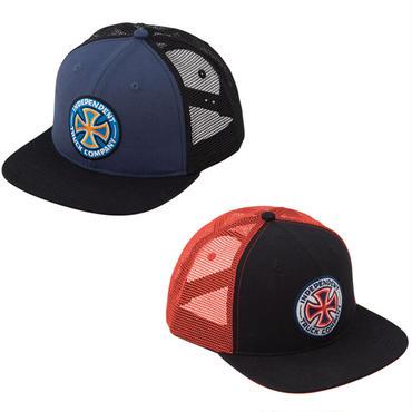 INDEPENDENT COLORS LOGO MESH CAP
