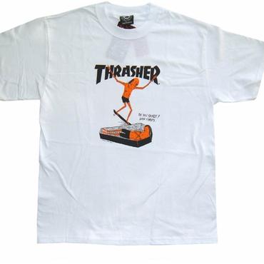 THRASHER  NECKFACE TEE