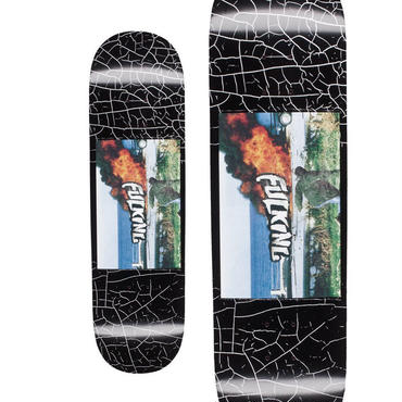 FUCKING AWESOME CAR FIRE DECK  (8.5 x 32inch)