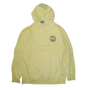 SPITFIRE CLASSIC SWIRL PULLOVER DYED LEMON HOODIE
