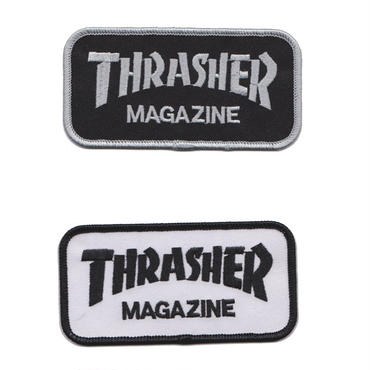 THRASHER  MAG LOGO  PATCH