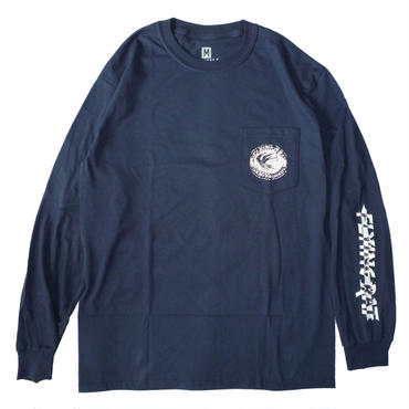 ANTI HERO FLYING RAT POCKET L/S TEE