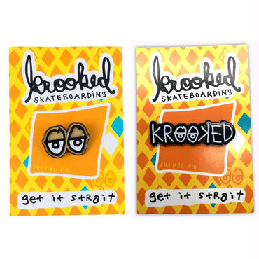 KROOKED EYES & STRAIT EYES PINS