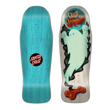 SANTA CRUZ ERICK WINKOWSKI GHOST PRE ISSUE DECK (10.34 x 30.54inch)