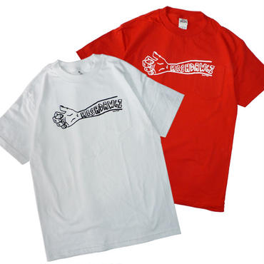 HESHDAWGZ x RUSS POPE ARM POCKET TEE