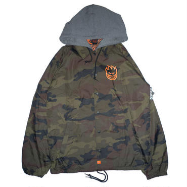 SPITFIRE COVERT CAMO HOODED COACH JACKET
