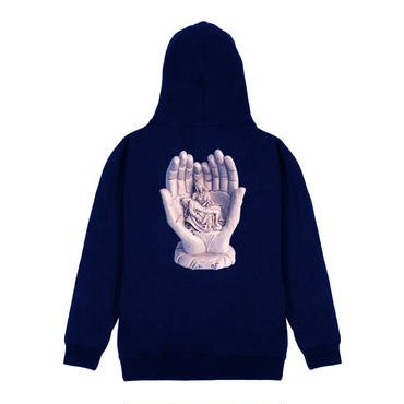 FUCKING AWESOME STATUE HAND HOODIE