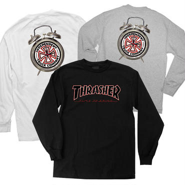 INDEPENDENT x THRASHER TTG L/S TEE