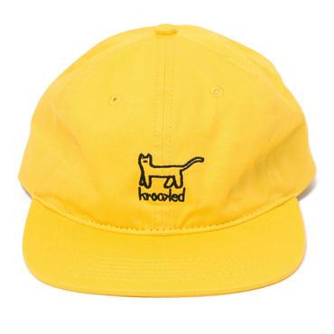 KROOKED KAT EMB STRAPBACK CAP
