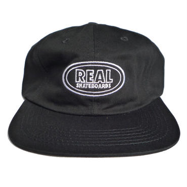 REAL OVAL EMBROIDERY CLIP BACK CAP