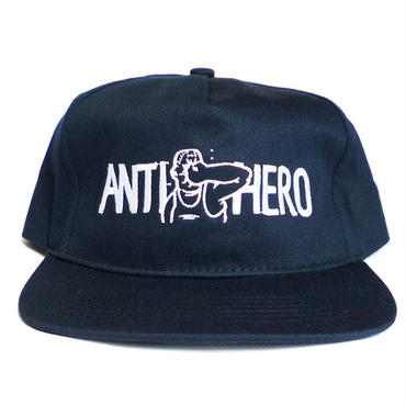 ANTI HERO PUNCH EMBROIDERY SNAPBACK CAP