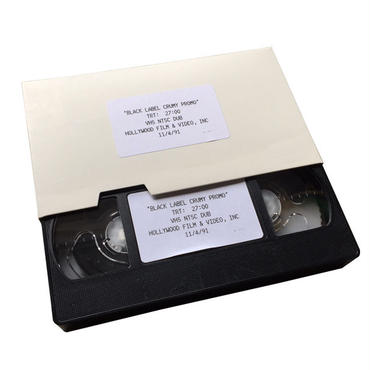 SALE! セール!  DEAR, BLACK LABEL CRUMY PROMO VHS VIDEO