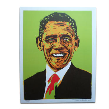 LOST HIGHWAY PRESIDENT SERIES  BARACK OBAMA POSTER