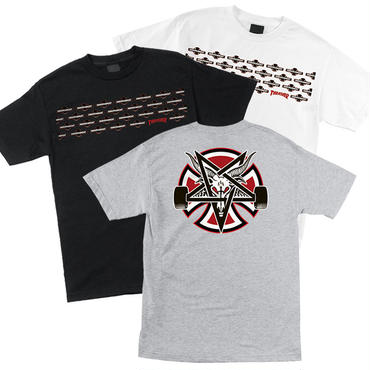 SALE!! セール! INDEPENDENT x THRASHER PENTAGRAM CROSS TEE