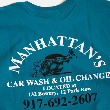 CALL ME 917  MANHATTAN CAR WASH TEE