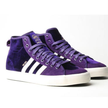 "ADIDAS SKATEBOARDING MATCHCOURT HIGH RX NAKEL SMITH SKATE SHOES  ""Purple Velvet"""