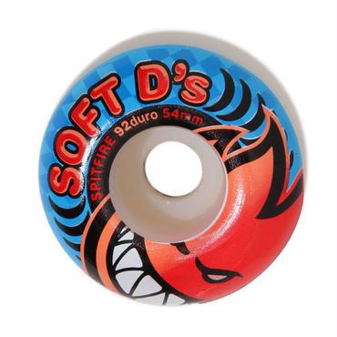 SPITFIRE  SOFT D's WHEEL 92duro