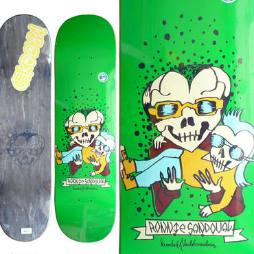 KROOKED RONNIE SANDOVAL EL HERO DECK (8.25 x 32.2inch)