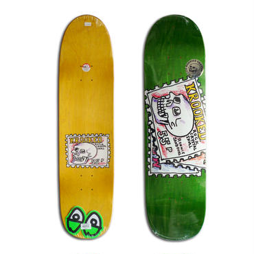 KROOKED RONNIE SANDOVAL SEND IT DECK (8.25 x 32inch)