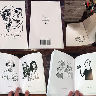 RUSS POPE  LIFE LINES  ART BOOK