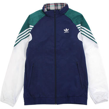 ADIDAS SKATEBOARDING LIGHTWEIGHT FULL ZIP TRACK JACKET