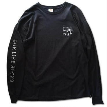 OUR LIFE FRIED L/S TEE