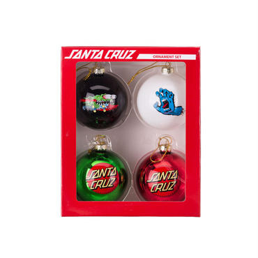 SANTA CRUZ ORNAMENT SET
