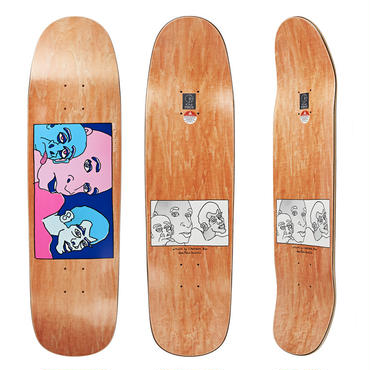 DEAR, x POLAR SKATE CO.  THREE FACES DECK  (8.625 x 32.375inch)