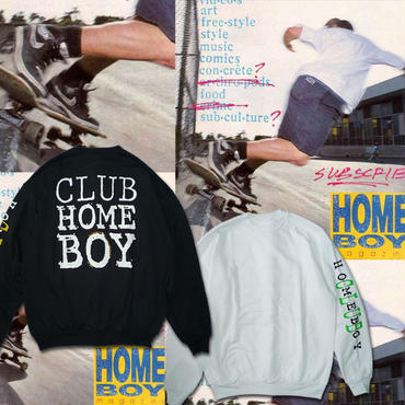 DEAR,  CLUB HOMEBOY CREWNECK