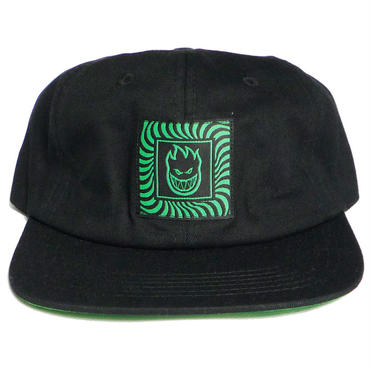 SPITFIRE BOX SWIRL PATCH STRAPBACK CAP