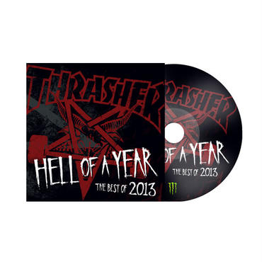 THRASHER  HELL OF A YEAR  THE BEST OF 2013 DVD