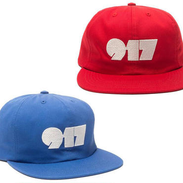CALL ME 917 TYPOGRAPHY STRAP BACK CAP