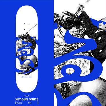EVISEN SHOGUN WHITE DECK (8.06 x 31inch)