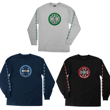 INDEPENDENT HOLLOW CROSS L/S TEE