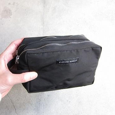 STANDARD SUPPLY / スタンダードサプライ / 2R SQUARE POUCH / black