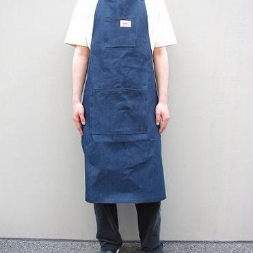 ROUND HOUSE(ラウンドハウス) / Shop Apron /  BLUE DENIM