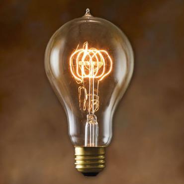 Edison Bulb / A-Shape (L) / 40W / E26