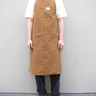 ROUND HOUSE(ラウンドハウス)  / Shop Apron / BROWN DUCK
