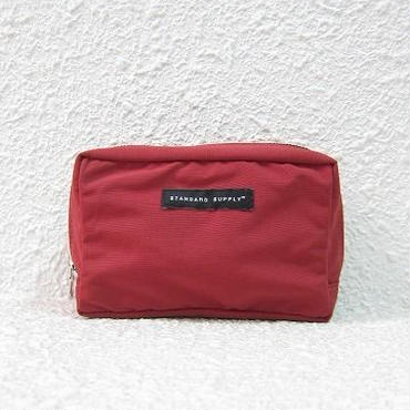 STANDARD SUPPLY / スタンダードサプライ / SQUARE POUCH - M / RED