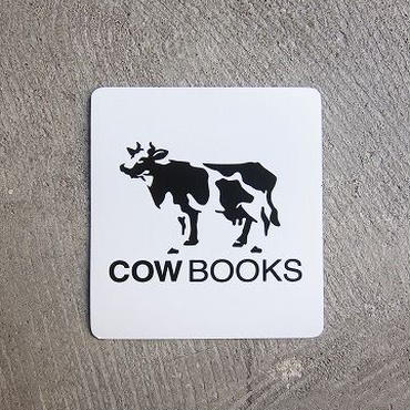 COW BOOKS / Magnet sheet / WHITE