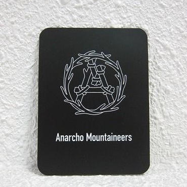 "MOUNTAIN RESEARCH / マウンテンリサーチ /Magnet Sheet ""Wreath"" / black"