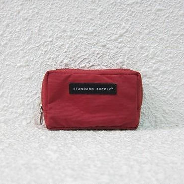 STANDARD SUPPLY / スタンダードサプライ / SQUARE POUCH - S /  RED