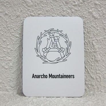 "MOUNTAIN RESEARCH / マウンテンリサーチ /Magnet Sheet ""Wreath"" / white"
