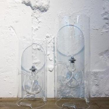 CZECH HAND MADE OIL LAMP / L