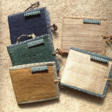 ヒマラヤンヘンプの2つ折財布